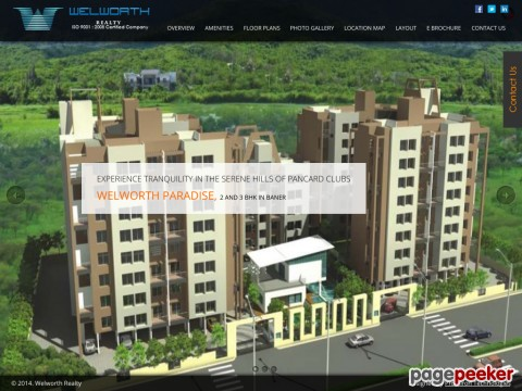 2/3 BHK Flats Apartments in Baner Pune