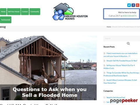 Should I Sell My Flooded House Or Not?