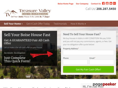 Sell Your House Fast Boise Idaho