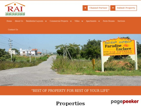 Rai Estates: Muda Approved Sites