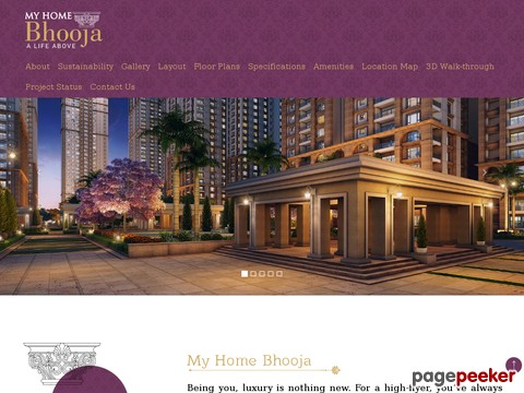 My Home Bhoola Luxury Apts in Hyderabad