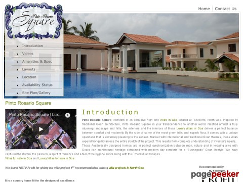 Villas in Goa | Luxury Villas in Goa | V