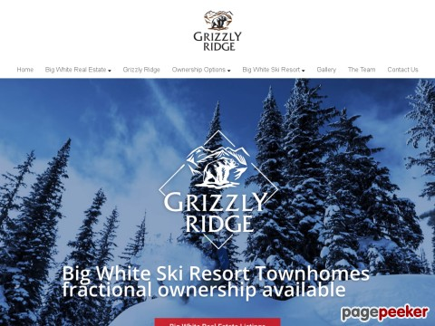Big White Real Estate - Grizzly Ridge Sk