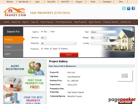 Real Estate - India |Buy-Sell-Rent| Onli