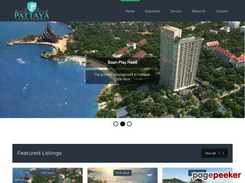 Pattaya Real Estate.com