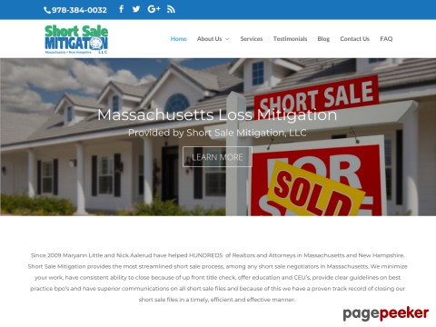 Massachusetts short sale negotiator
