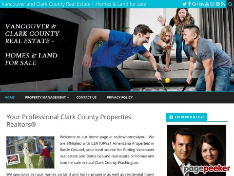 Clark County, Battle Ground, Brush Prairie, WA - Homes on Land For Sale