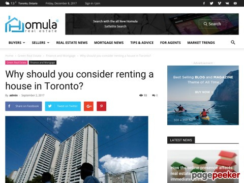 Renting a House in Toronto