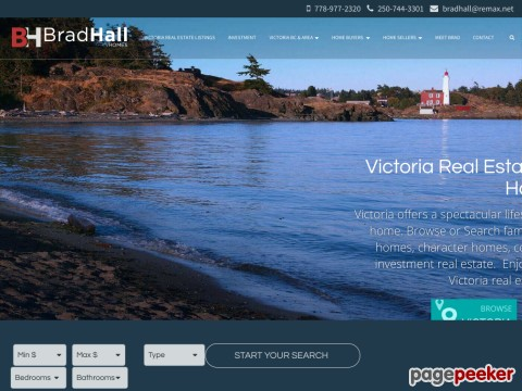 Victoria Real Estate - Brad Hall - Re/ma