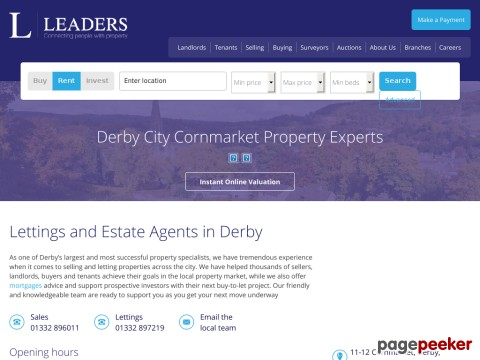 Estate Agents In Derby