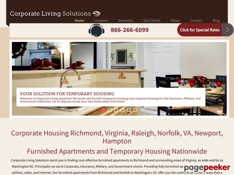 Richmond Furnished Apartment Rentals