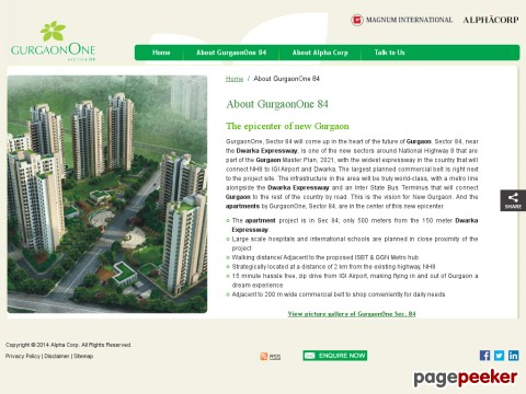 Dwarka Expressway Projects Gurgaon One S
