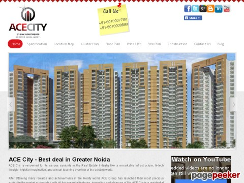 Best deal in Greater Noida- Ace City