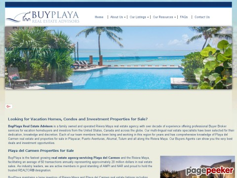 BuyPlaya Real Estate Advisors