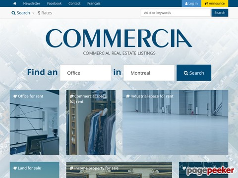 Commercia Commercial Real Estate Montrea