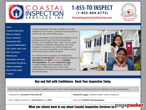 Coastal Inspections Services - Vancouver island