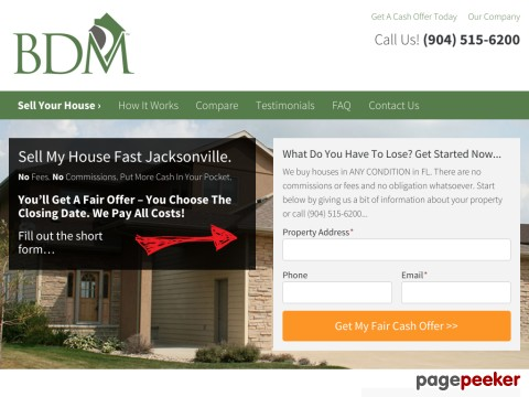 Sell Your House Fast In Jacksonville FL